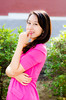 If I longed for u.... (DextDee) Tags: china pink girl female asian model nikon asia sara chinese presenter d7000 dextdee
