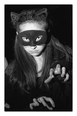 Halloween - 2012 (1) (gastwa) Tags: portrait people bw white black halloween girl 50mm dc washington nikon power faces flash 14 maryland andrew full frame fullframe fx afs rockville sensor strobe d800 14g gastwirth d800e andrewgastwirth