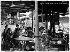 Life Matters (J2Kfm) Tags: bw photography market streetfood ipoh perak pasirputeh
