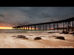 Catherine Hill Bay (AnthonyGinmanPhotography) Tags: water flow coal loader catherinehillbay
