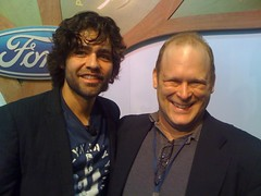 Adrian Grenier With Seth Leitman, Green Living Guy (Greenlivingguy) Tags: greenliving greenbusiness greenlivingnews