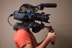 FS700 Shoulder Rig 3 (headshotzx) Tags: cinema film canon video sony gear equipment rig shoulder filming nex filmography zexun fs700 metabones