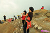 2 Girls from Medan in Kawah Ijen with Keliling Nusantara