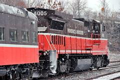 P&W Polar Express Christmas Train (robtm2010) Tags: christmas railroad usa engine trains rhodeisland locomotive pw christmastrain woonsocket providenceworcesterrr polarepress no4005
