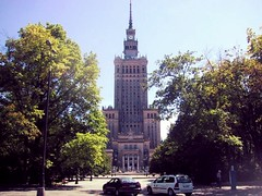 Palace of Culture & Science (danieljsf) Tags: building poland landmark warsaw stalinist palaceofcultureandscience flickrchallengegroup thechallengegame thechallengefactory