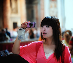 World is so wonderful through my Canon ! (Laurent photography) Tags: travel wallpaper portrait italy woman vatican rome girl canon french photography nikon europe flickr human hd 365 nikkor fx individual d700 laurentphotography
