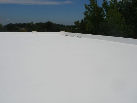 PremiumCoat Over Concrete (QCP LLC) Tags: Roof White Concrete Cool Coat Hydro  Stop