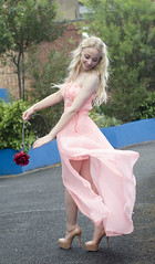 The Nightingale and the Rose (katieblench) Tags: england rose pose kent movement model fashionphotography models blondehair prettygirl pinkdress blondhair fashionphoto urbanlocation thenightingaleandtherose nudeheels katieblenchphotography katieblenchphoto