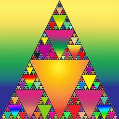 Sirpinski fractal rainbow (Marco Braun) Tags: abstract color triangle geometry fraktal fractal fractals colourful coloured catchy farbig bunt mucho abstrakt geometrie abstrait fraktale dreieck sierpinski sierpinsky couleures sierspinski sirpinsky multichtome dreiieck