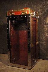 Harry Houdini's Chinese Water Torture Cell (Dayle Krall:Most Accomplished Female Escape Artist) Tags: water television micky magic chinese cell richard torture sherry hades krall biopic dayle adrianbrody historychannel jimcollins hardeen kristenconnolly movies2014 historychannelhoudini houdinibiography