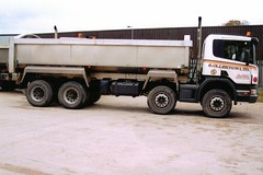 so12 (langson2) Tags: man tipper s lancashire trucks ltd scania ollerton haulage companys