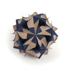 ? (_Ekaterina) Tags: blue paper origami modularorigami kusudama unitorigami lukasheva ekaterinalukasheva