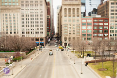 Chicago tilt shift (Blue_gsx) Tags: chicago shift tilt 45mm pce d700