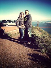My wonderful husband and I (Sweetlady79) Tags: marinheadlands uploaded:by=flickrmobile flickriosapp:filter=mammoth mammothfilter