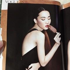 ไอศกรีม... เธอช่างไม่เกี่ยวกับโว้ค ได้โปรดเถอะ! src: Vogue Thailand