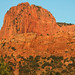 Navajo Sandstone at sunset (Lower Jurassic; northern Kolob Canyons, Zion National
