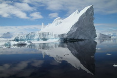 from birds to bergs (^Diana^) Tags: sea summer reflection ice water melting antarctica jaws iceberg iceicebaby