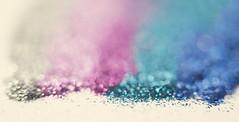 Glitter Party! (Morphicx) Tags: pink blue colors beautiful glitter silver rainbow shiny pretty bokeh