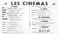 7 Jours A Casablanca (jericl cat) Tags: travel cinema modern illustration vintage magazine paper movie french moulin design mod opera theater riviera theatre ad arc triomphe victoria montecarlo ephemera advertisement souvenir le empire olympia ritz abc casablanca 1960s vox rex bourgogne lynx liberte rialto rif beausejour 1960 mondial colisee rochesnoires lutetia edenclub maarif presdelagare