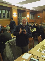 Brendan O'Gorman at the Imperial College chess...