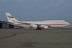 Dubai Air Wing Boeing 747-422 A6-MMM (EK056) Tags: dubai air wing boeing 747422 a6mmm dsseldorf airport