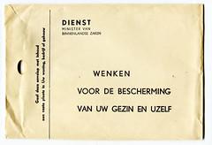 1961 BB - Bescherming Bevolking (Steenvoorde Leen - 4 ml views) Tags: ministervanbinnenlandsezaken bescherming koudeoorlog toelichting 1961 dienst minister van binnenlandse zaken bb beschering bevolking koude oorlog