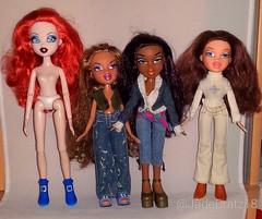 New Dolls 16.08.2016 (JadeBratz18) Tags: bratz first edition sasha bratzillaz back magic meygana broomstick girlz nite out yasmin passion4fashion passion fashion fashiondoll doll dolls onlybratzarebratz