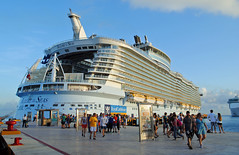 Allure of the Seas, Cozumel. (Infinity & Beyond Photography) Tags: royalcaribbean allureoftheseas cruise ship ocean liner lines docked boat cozumel mexico
