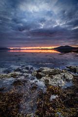 Crack of Dawn (SkyeWeasel) Tags: scotland skye highlands sunrise dawn broadfordbay broadford seashore seascape coast ngc npc