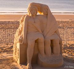 SSS_0223 (Sam 8899) Tags: sand sculpture beach sunrise morning light sky sea color