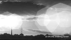 Dreaming Sunset (ntemptm) Tags: beauty blackandwhite bright dream infrared landscape naturelovers nopeople ndfilter outdoor scenics sky sun heptagon sunset sunsetporn art