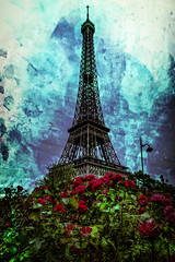Tower of Flower (Batram) Tags: tower flowers paris eiffelturm