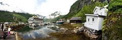 Slipway (BorisJ Photography) Tags: 2016 7d borisjusseit borisjphotography canon eos fjord july mountain norway norwegen panorama stitched stitchedpanorama urlaub vacation water geiranger no