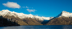 Evening Light on Lake Wakatipu (Lathkill96) Tags: lakewakatipu mountains snow scenery landscape snowcovered snowcoveredmountains