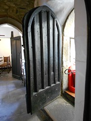 Castle Dairy, Kendal, Cumbria. The rear door. (hercon2000uk.) Tags: squintwindow buttery screenspassage
