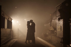 Kiss Goodbye (David Blandford photography) Tags: steam swindon timeline events silhouettes city truro kiss goodbye