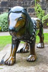 Pride of Paisley - Chewy the Lion Wookie (markyharky) Tags: pride paisley prideofpaisley lions lion sculpture lionsculpture prideofpaisleywildinart colourful artistic statue prideofpaisleycouk chewy wookie chewythelionwookie wynd centre wyndcentre school schoolwynd chewbacca starwars