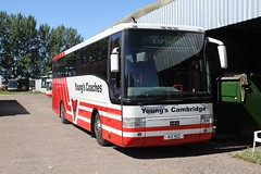 YOUNGS A13YCC HADDENHAM 260816 (DavidsTransportPix) Tags: a13ycc y326hua daf de33 vanhool t9 airlinks d326 nationalexpress youngscoaches youngsofhaddenham