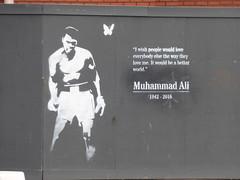 Islington Row Middleway / Bath Row - Muhammad Ali (ell brown) Tags: islingtonrowmiddleway birmingham westmidlands england unitedkingdom greatbritain fiveways bathrow tobedemolished muhammadali graffiti streetart birminghamuk
