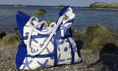 summer tote (3patch) Tags: summer tote seaside star patchwork