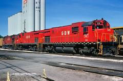 Green Bay & Western 315 Green Bay WI 9-5-1976 (Frater Operator) Tags: railroad locomotive greenbaywestern alco c430