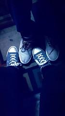20160902_201428 (MLizethreyes) Tags: footloose lad tgif friends nightout night shoes hisandhers heandshe