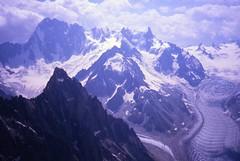 Grandes Jorasses from Petit Dru (andywalker1) Tags: andrewwalker americandirect dru petitdru chamonix alps alpineclimbing