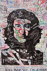 John Lennon 2 (codedtestament777) Tags: citysights5 graffiti art beautiful love life design surreal text bright sign painting writing nature crazy weird fabulous environment cartoon animation outdoor street photo border photoborder illustration collection portrait face expression character drawing sketch johnlennon music song rock pop experimental