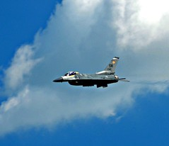 F-16 Viper (The Old Texan) Tags: airshow f16 texas clouds sky d7000 nikon tamron