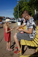 Daughter and Father (thebakershalfdozen) Tags: minnesota statefair mnstatefair father daughter