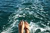(gabubumon.) Tags: mare scia sea piedi blue schiuma