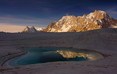 Biafo Glacier: Pamshe Peak reflection (Shahid Durrani) Tags: biafo glacier snow reflection baltistan central karakoram national park karakorams pakistan