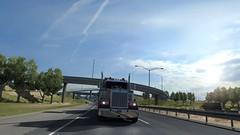 American Truck Simulator - Kenworth W900 (thundra.by) Tags: american truck simulator kenworth w900
