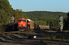 Nothing is over til Steve says it is! (chief_huddleston) Tags: cn canadiannational m357 et44ac 3106 3093 train railroad twinports duluth superior steelton hill
